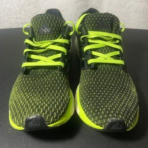 Adidas Energy Boost Black Green Running Shoes A2